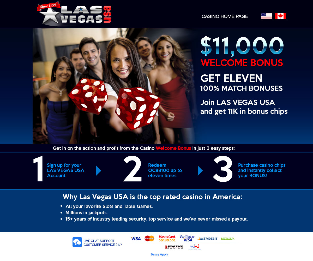 Las Vegas Usa Casino Review 3000 Welcome Bonus Us Players Welcome